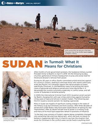 Sudan Report Cover