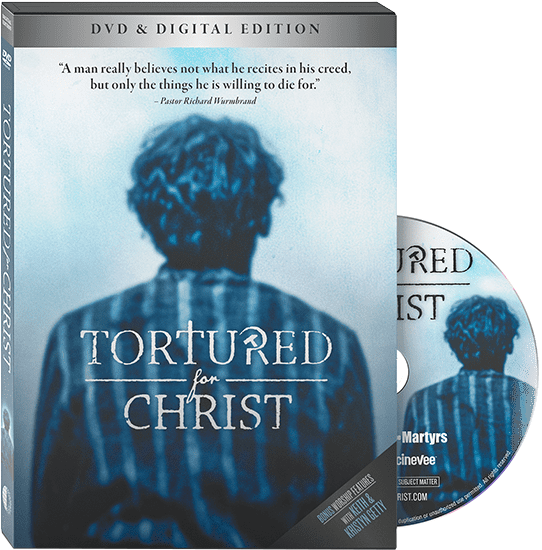 Tortured for Christ Book and DVD