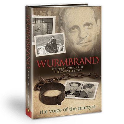 Book cover of Wurmbrand with Richard's face.