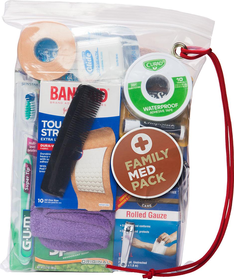 Packed Family Med Pack