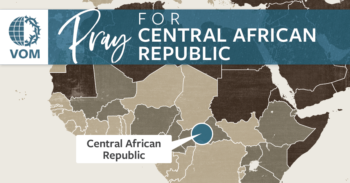 Map of Central African Republic's location