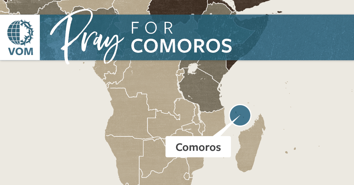 Map of Comoros's location