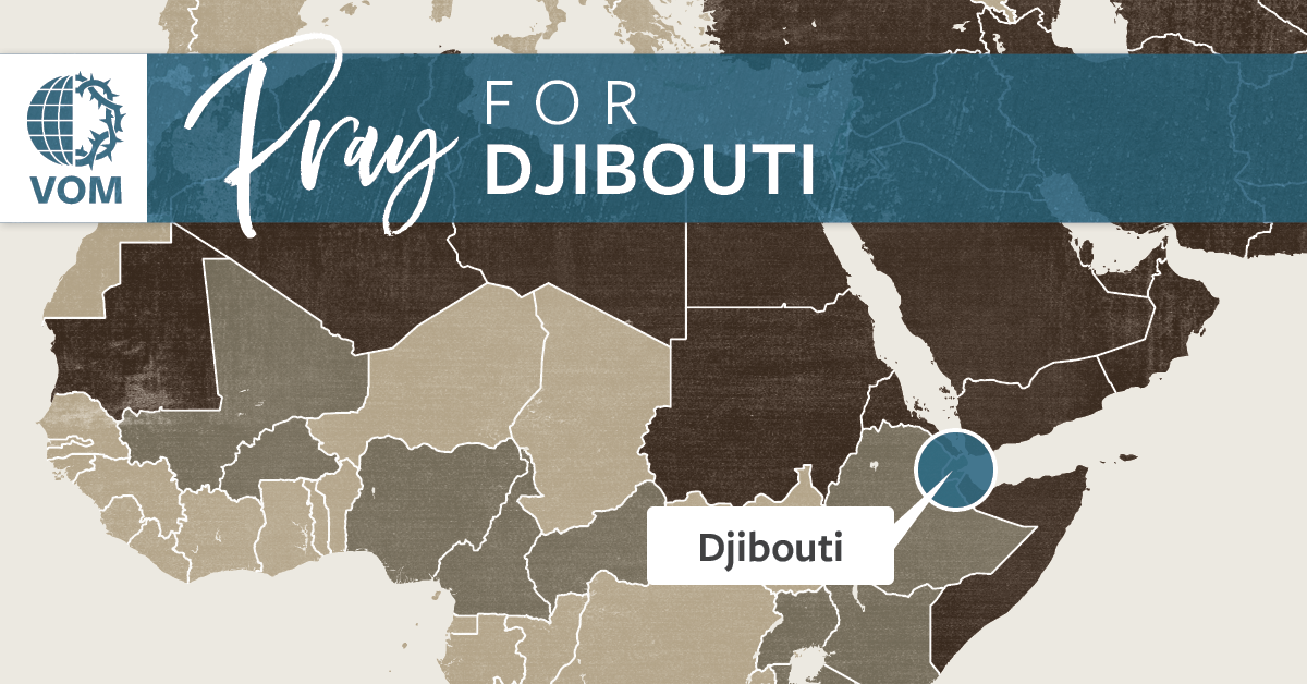Map of Djibouti's location