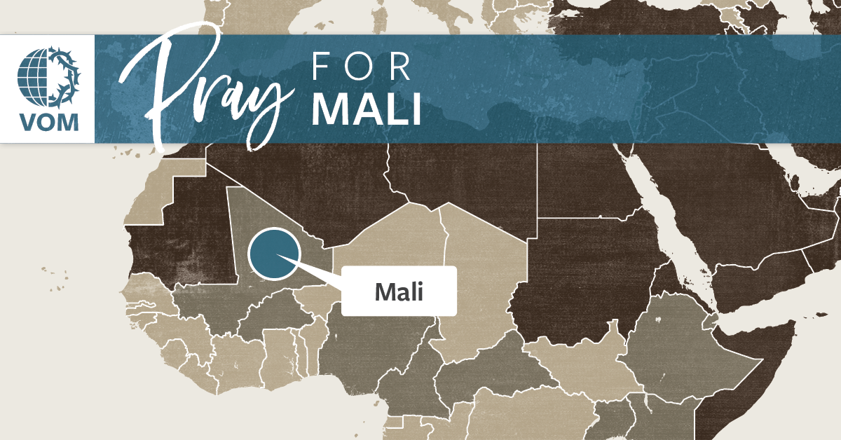 Map of Mali's location
