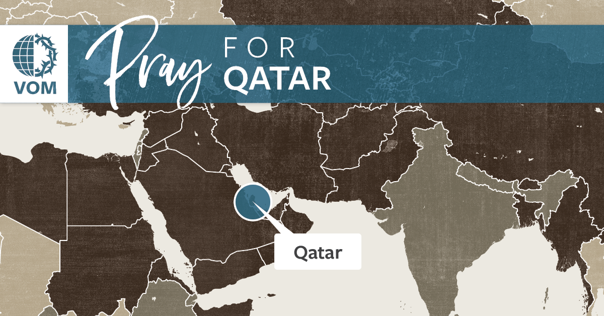 Map of Qatar's location