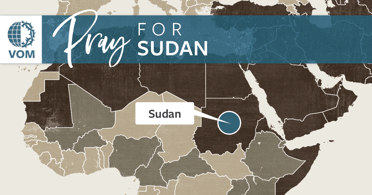 Map of Sudan's location
