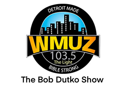 Logo for WMUZ 103.5 The Light - The Bob Dutko Show