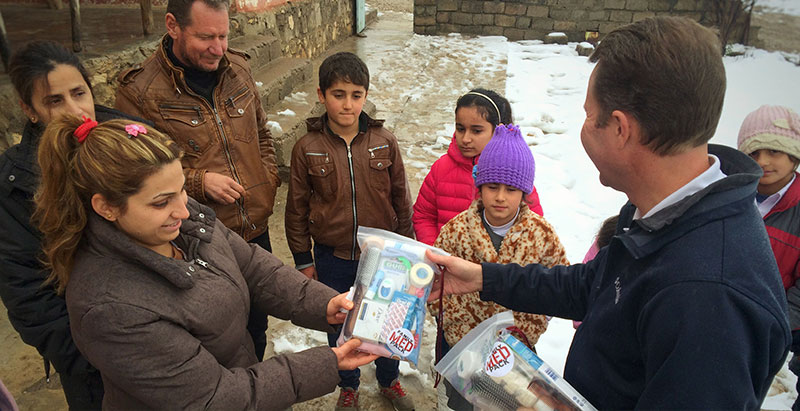 First Family Med Packs Delivered in Iraq
