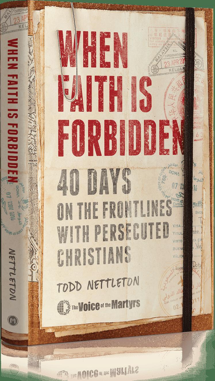 Cover of When Faith is Forbidden book