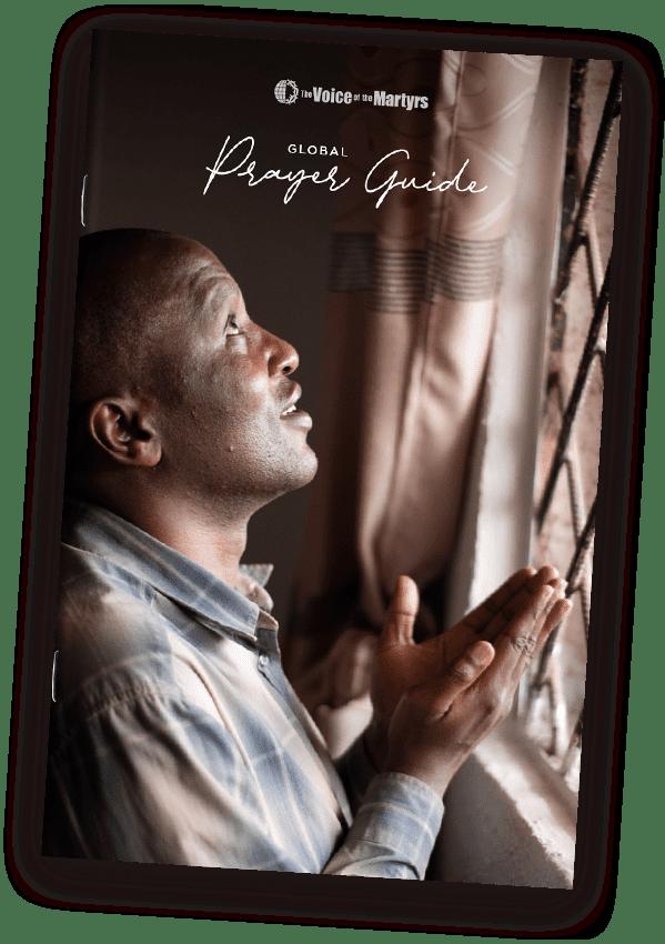 Cover of 2021 prayer guide