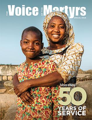 Example magazine cover